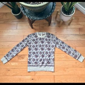 Tory Burch Floral sweater